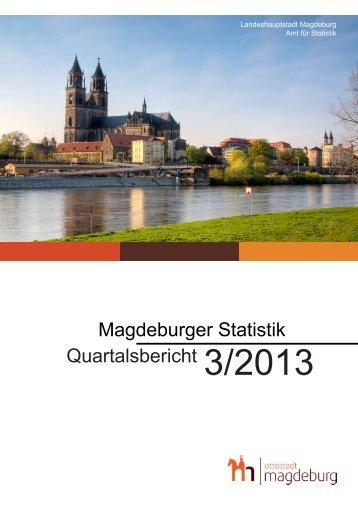 Statistischer Quartalsbericht 3/2013