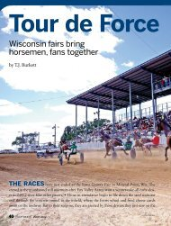 Wisconsin fairs bring horsemen, fans together - Wisconsin Harness ...