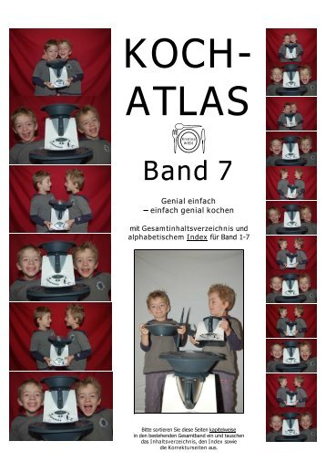 Inhaltsverzeichnis Band 7 (als PDF) - Koch-Atlas