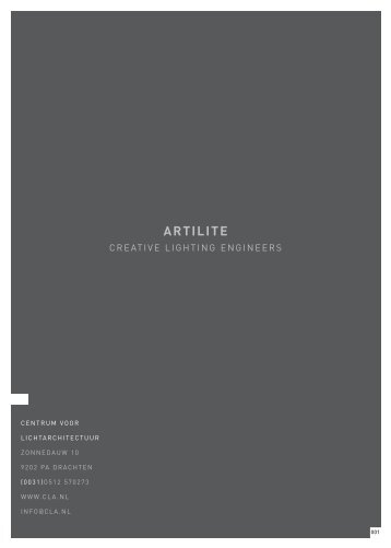ARTILITE - Artec Lighting