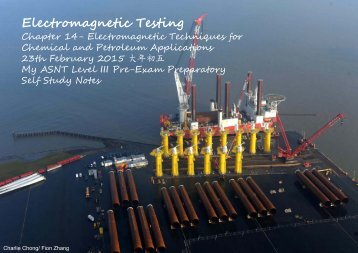 Electromagnetic Testing-EMT Chapter 15 - Chemical and Petroleum Applications