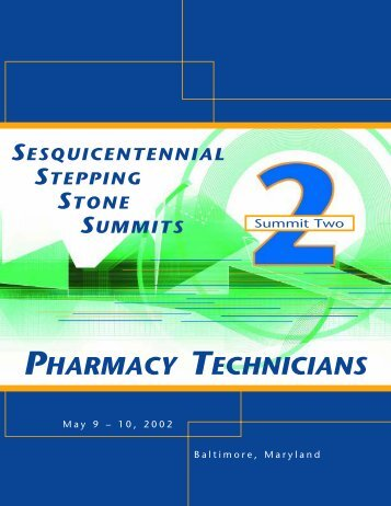 summit broch - Accreditation Council for Pharmacy Education