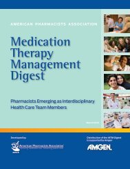 Medication Therapy Management Digest - American Pharmacists ...