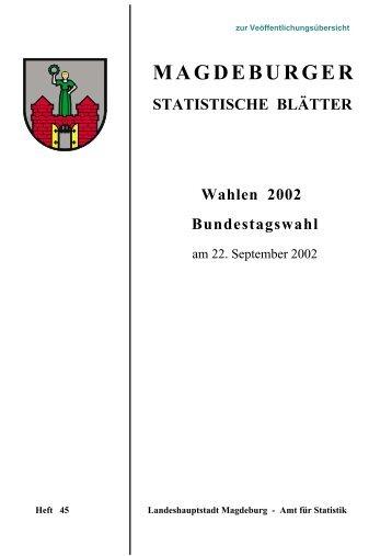 Wahlen 2002 - Bundestagswahl am 22. September 2002