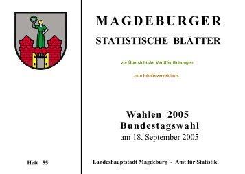 Wahlen 2005 - Bundestagswahl am 18. September 2005