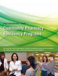 Community Pharmacy Residency Programs - American Pharmacists ...