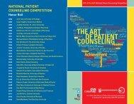 2014 NPCC Pamplet - American Pharmacists Association