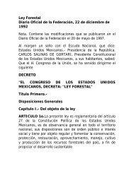 Ley Forestal Mexico - CEDAF