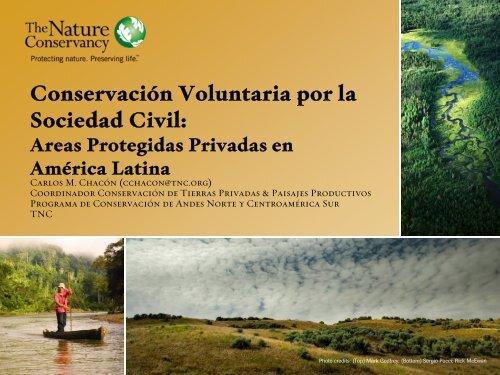 Taller sobre Conservación Voluntaria Sociedad Civil - CEDAF