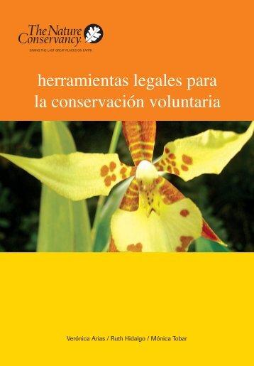 herramientas legales para la conservación voluntaria - CEDAF