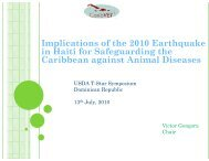 Implications of the 2010 Earthquake in Haiti for ... - CEDAF
