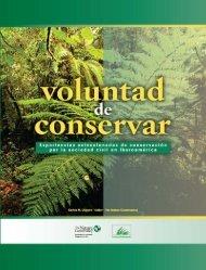 Voluntad de Conservar - CEDAF