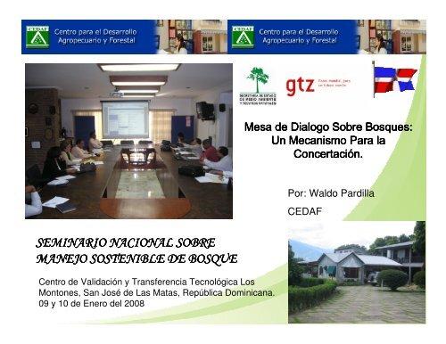 Mesa de Dialogo Sobre Bosques - CEDAF