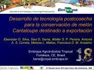 Desarrollo de tecnología postcosecha para la ... - CEDAF