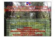 Situación Sector Forestal Dominicano y el Dialogo ... - CEDAF