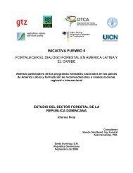 Estudio del Sector Forestal de la República Dominicana - CEDAF