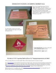 INFORMATION ON BOXING AND SHIPPING THINPREP VIALS Web ...