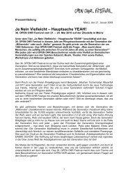 Ja Nein Vielleicht – Hauptsache YEAH! - Open Ohr Festival