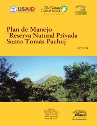 "Plan de Manejo ""Reserva Natural Privada Santo Tomas ... - CEDAF"