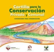 Cartilla Concesiones para Conservación SPDA - CEDAF