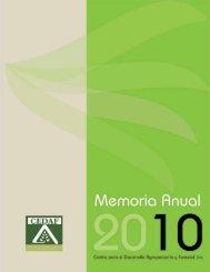 Memoria 2010 - CEDAF