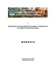 Memoria Seminario Taller Sobre Certificación Forestal en ... - CEDAF