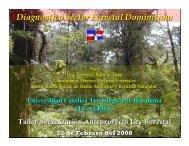 Diagnostico Sector Forestal Dominicano - CEDAF