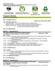 Programa General - CEDAF