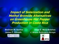 Impact of Solarization and Methyl Bromide Alternatives on ... - CEDAF