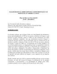 Cuba - Incentivos Forestales - CEDAF