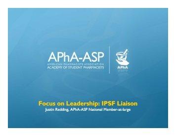 IPSF Liaison