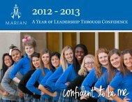 14 A Year of Leadership Through Confidence - Marian High School
