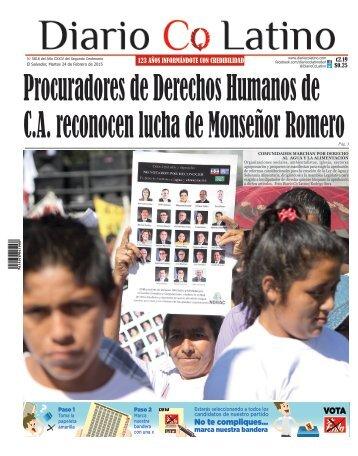 Edición 24 de Febrero de 2015