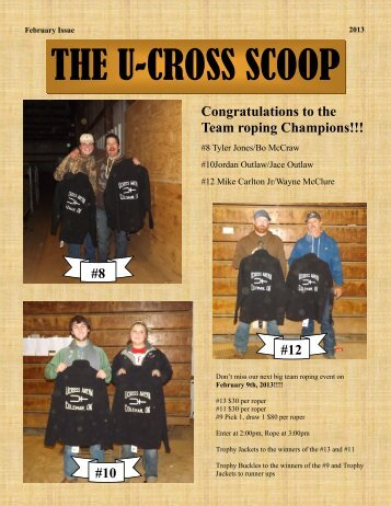The U Cross Scoop February Issue - CommunityHotline.com