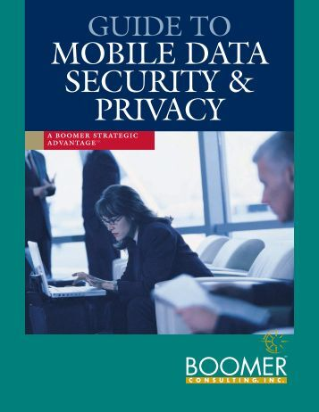 MOBILE DATA SECURITY & PRIVACY - CPAReport