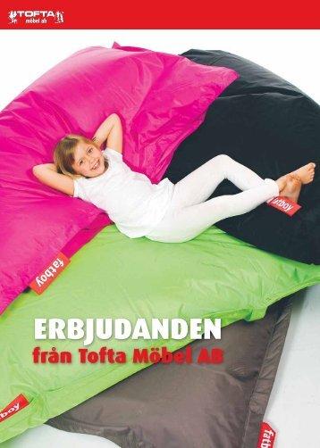 ERBJUDANDEN - Tofta Möbel AB