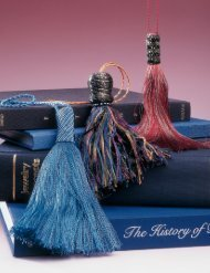 Tassels supply the finishing touch - Bead and Button Magazine