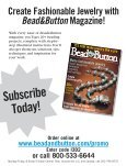 Tassels supply the finishing touch - Bead and Button Magazine - Page 5