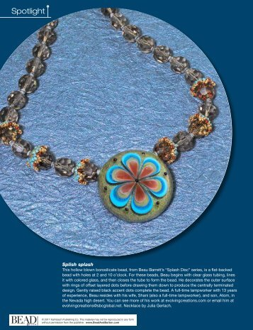 Spotlight - Bead and Button Magazine