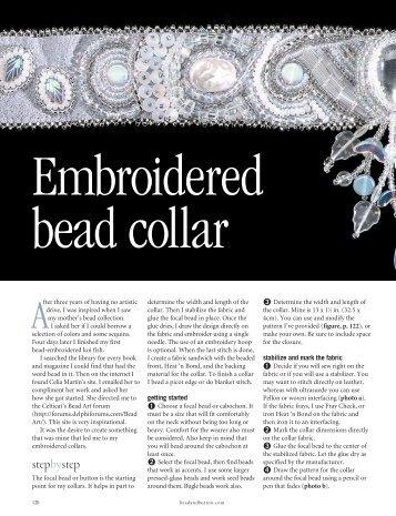 stepbystep - Bead and Button Magazine