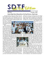 Special Cal Cup Edition - San Diego Tennis Federation