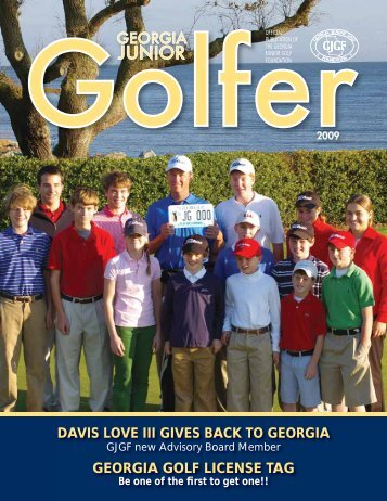 DAVIS LOVE III GIVES BACK TO GEORGIA ... - PGA Georgia
