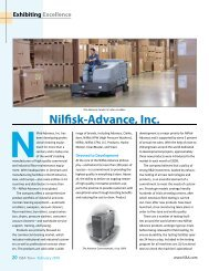 Nilfisk-Advance, Inc. - JPC