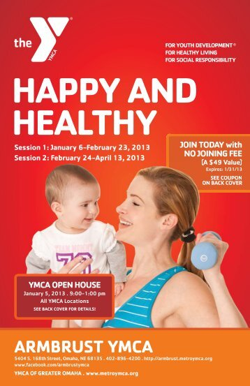 HAPPY AND HEALTHY - Armbrust YMCA
