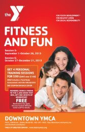 FITNESS AND FUN - Downtown YMCA