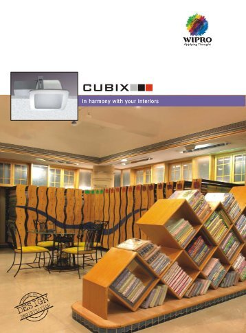cubix_single pages - Wipro Lighting