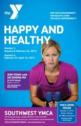 HAPPY AND HEALTHY - Southwest YMCA