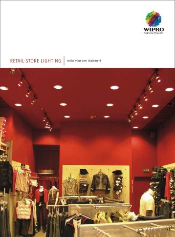 Retail International Range Catalogue - Wipro Lighting