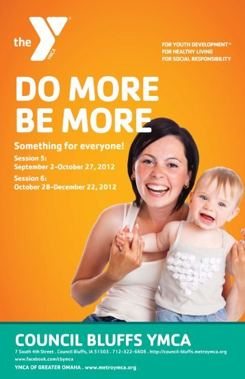 DO MORE BE MORE - Council Bluffs YMCA