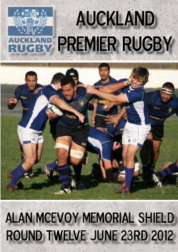 AUCKLAND PREMIER rUGBY